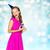 szczęśliwy · kobieta · teen · girl · urodziny · ludzi - zdjęcia stock © dolgachov