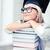 donna · sorridente · nero · diploma · Università · istruzione - foto d'archivio © dolgachov