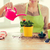 close up of woman hands planting roses in pot stock photo © dolgachov