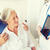 orvos · táblagép · beteg · kórház · egészségügy · technológia - stock fotó © dolgachov