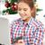 mulher · cartão · de · crédito · laptop · árvore · de · natal · bela · mulher · computador · portátil - foto stock © dolgachov