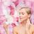 gyönyörű · lány · jelentkezik · krém · arc · fiatalság · bőrápolás - stock fotó © dolgachov