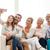 счастливая · семья · смартфон · домой · семьи · счастье · поколение - Сток-фото © dolgachov