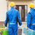 group of builders with toolboxes stock photo © dolgachov