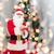 homme · costume · notepad · Noël · vacances - photo stock © dolgachov