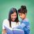 Schülerin · Lehrer · Lesung · Buch · Klasse · Frau - stock foto © dolgachov