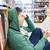 Studenten · Junge · junger · Mann · Lesung · Buch · Bibliothek - stock foto © dolgachov