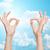 vliegtuigen · blauwe · hemel · alle · hemel · licht · achtergrond - stockfoto © dolgachov