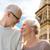 utazás · pár · torony · párizs · mosolyog · boldog - stock fotó © dolgachov