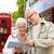 casal · de · idosos · rua · família · idade · turismo · viajar - foto stock © dolgachov