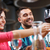 gelukkig · man · glas · wijn · restaurant · recreatie - stockfoto © dolgachov