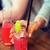 meyve · içme · saman · sulu · turuncu - stok fotoğraf © dolgachov