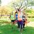 femenino · corredor · ganar · maratón · mujeres · feliz - foto stock © dolgachov