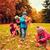 csoport · gyerekek · gyűjt · levelek · ősz · park - stock fotó © dolgachov