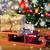 ギフトボックス · クリスマスツリー · 休日 · プレゼント · お祝い - ストックフォト © dolgachov