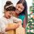 mama · córka · otwarcie · christmas · obecnej · wesoły - zdjęcia stock © dolgachov