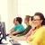 kadın · öğrenci · sınıf · arkadaşları · bilgisayar · sınıf · eğitim - stok fotoğraf © dolgachov