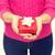 eller · küçük · kırmızı · hediye · kutusu - stok fotoğraf © dolgachov