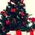 close up of christmas tree and presents stock photo © dolgachov