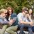 ragazze · adolescenti · occhiali · da · sole · estate · moda · occhiali - foto d'archivio © dolgachov