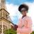 Paris · kadın · telefonu · kadın · konuşma · cep · telefonu - stok fotoğraf © dolgachov