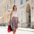 gelukkig · vrouw · lopen · stad · verkoop - stockfoto © dolgachov