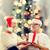 幸せ · サンタクロース · ヘルパー · 家族 - ストックフォト © dolgachov