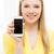 femme · smartphone · écran · personnes - photo stock © dolgachov