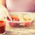 manos · comida · vegetariana · cuadro · alimentación · saludable · dieta - foto stock © dolgachov