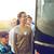 grup · mutlu · yatılı · seyahat · otobüs - stok fotoğraf © dolgachov