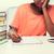 скучно · девушки · ноутбука · ноутбук · домой · люди - Сток-фото © dolgachov