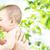 hispanos · madre · recién · nacido · bebé · mujer · sonrisa - foto stock © dolgachov