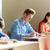 Gruppe · Studenten · Pfund · schriftlich · Schule · Test - stock foto © dolgachov
