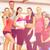 grup · gülen · insanlar · spor · salonu · uygunluk · spor - stok fotoğraf © dolgachov