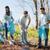 boldog · önkéntes · csoport · nők · férfiak · tini - stock fotó © dolgachov
