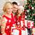 счастливым · расширенной · семьи · Hat · подарки - Сток-фото © dolgachov