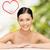 gezicht · handen · mooie · vrouw · gezondheidszorg · spa · schoonheid - stockfoto © dolgachov