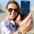 emberek · elvesz · szuvenír · kép · mobil · telefon - stock fotó © dolgachov