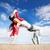 dans · hip-hop · dansçı · dans · kız · modern - stok fotoğraf © dolgachov