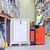 heftruck · dozen · magazijn · opslag · uitrusting - stockfoto © dolgachov