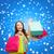 renkli · Noel · hediyeler · kar · bokeh · ışık - stok fotoğraf © dolgachov