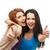 meninas · dois · mulheres · jovens - foto stock © dolgachov