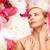 лице · рук · красивая · женщина · здоровья · красоту · женщину - Сток-фото © dolgachov