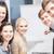 studentów · dyskusji · szkoły · edukacji · ludzi · grupy - zdjęcia stock © dolgachov