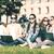 élèves · portable · ordinateurs · portables · école · éducation · technologie - photo stock © dolgachov
