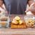 ジャガイモ · 手 · 男 · 地球 · 食品 - ストックフォト © dolgachov