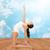 ahşap · heykelcik · egzersiz · zemin · beyaz · eğlence - stok fotoğraf © dolgachov
