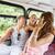 mutlu · arkadaşlar · otobüs · dostluk - stok fotoğraf © dolgachov