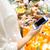 mulher · compra · comida · supermercado - foto stock © dolgachov
