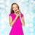 szczęśliwy · kobieta · teen · girl · ludzi · wakacje - zdjęcia stock © dolgachov